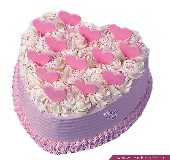 کیک ولنتاین - کیک عاشقانه رویای من باش | کیک آف