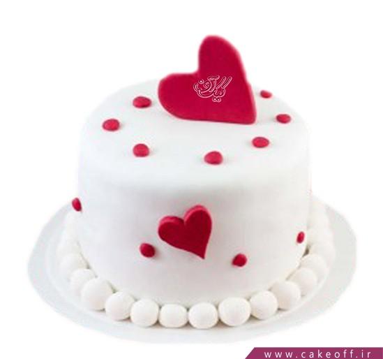 کیک ولنتاین الهه عشق