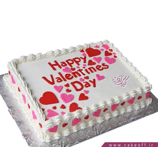 کیک هپی ولنتاین