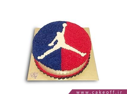 کیک ورزشی - کیک بسکتبالیست قهرمان | کیک آف