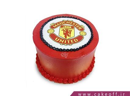 کیک تولد ورزشی - کیک منچستر یونایتد 3 | کیک آف