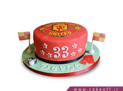 کیک تولد ورزشی - کیک منچستر یونایتد 2 | کیک آف