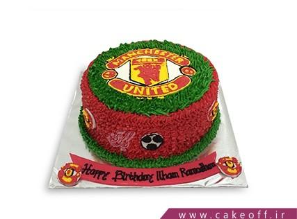 کیک تولد ورزشی - کیک منچستر یونایتد 1 | کیک آف
