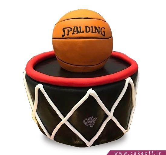 کیک بسکتبال - کیک به یاد جردن | کیک آف