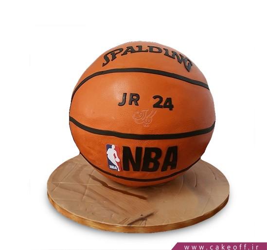 کیک توپ بسکتبال - کیک توپ جردن | کیک آف
