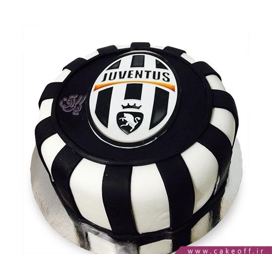 کیک ورزشی یوونتوس 1 | کیک آف