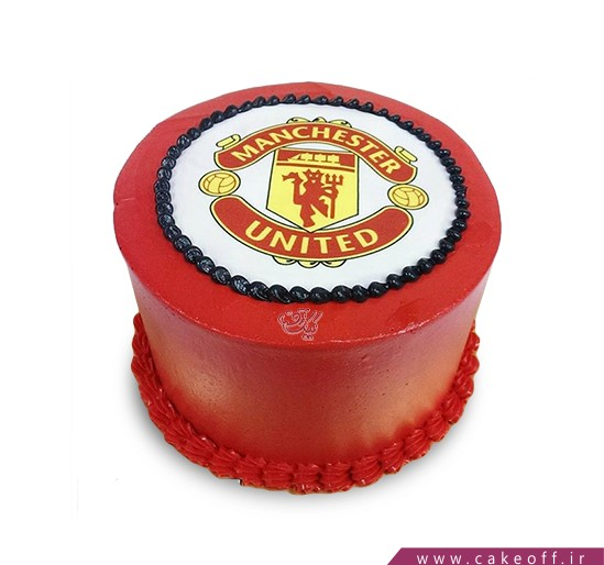 کیک تولد ورزشی - کیک منچستر یونایتد ۳ | کیک آف