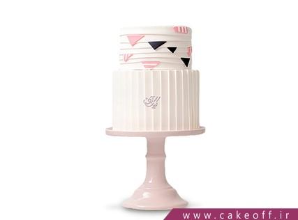 کیک عقد و عروسی آرام دخت | کیک آف