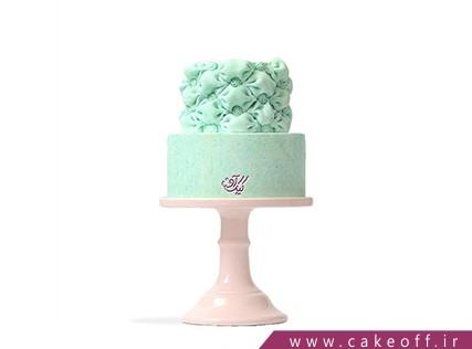 مدل کیک عروسی جدید - کیک عقد و عروسی نعناع پونه | کیک آف