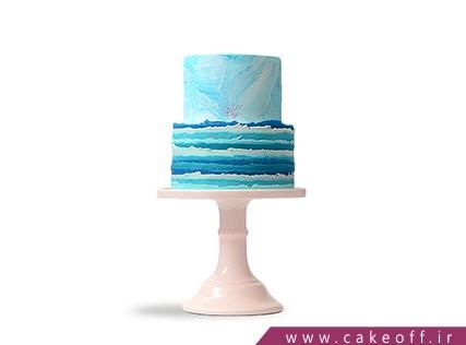 کیک عقد و عروسی در اصفهان - کیک مدیترانه | کیک آف