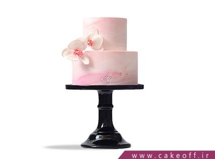 سفارش کیک عروسی - کیک دو طبقه رامش | کیک آف