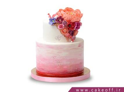 کیک عقد و عروسی گل اندام | کیک آف
