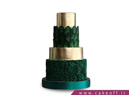 کیک عقد و عروسی سبزه قبا | کیک آف