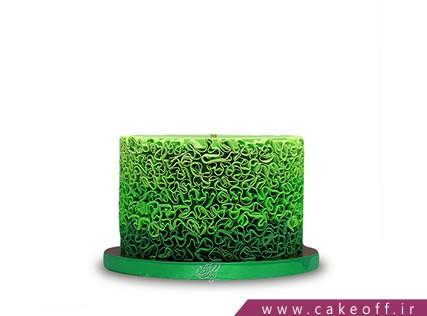 سفارش کیک خاص - کیک سایه های سبز | کیک آف
