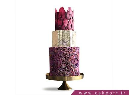 کیک عقد و عروسی سرخاب | کیک آف