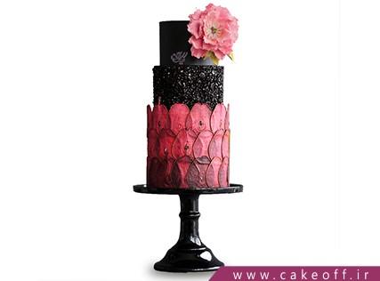 مدل کیک عروسی جدید - کیک گل افروز | کیک آف