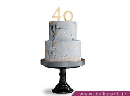 سفارش کیک تولد خاص - کیک صخره یخی | کیک آف