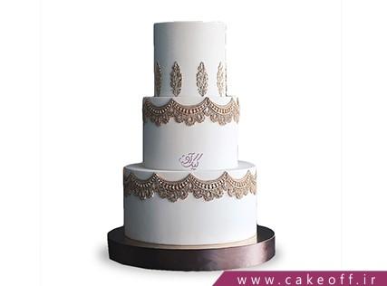 سفارش کیک عروسی - کیک عروسی سریرا | کیک آف