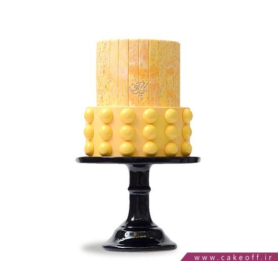سفارش کیک خاص - کیک تخم مرغ طلایی | کیک آف