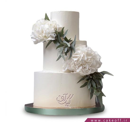 سفارش کیک عقد و عروسی - کیک سمن بر | کیک آف