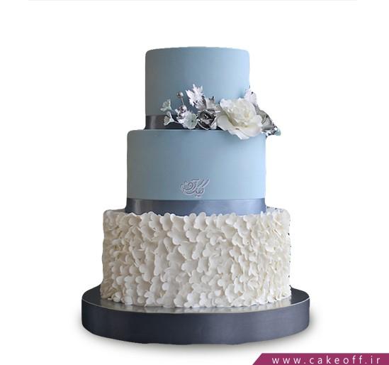 جدید ترین کیک های عروسی - کیک عروسی دریای آرام | کیک آف