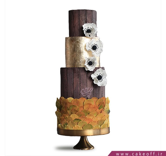 کیک عقد و عروسی گل ریز | کیک آف