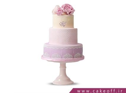 سفارش کیک نامزدی در اصفهان - کیک شکر بانو | کیک آف