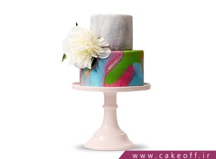 سفارش کیک عقد و عروسی - کیک سالگرد ازدواج شمیم | کیک آف
