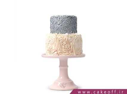 سفارش انواع کیک عروسی در اصفهان - کیک عروسی جدید آرام | کیک آف