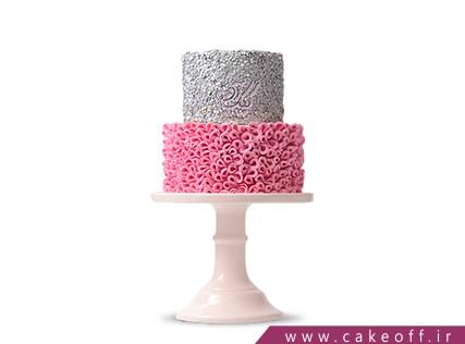 سفارش اینترنتی کیک عروسی - کیک عروسی ژنیا | کیک آف