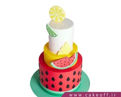 کیک شب یلدای طبقاتی | کیک آف