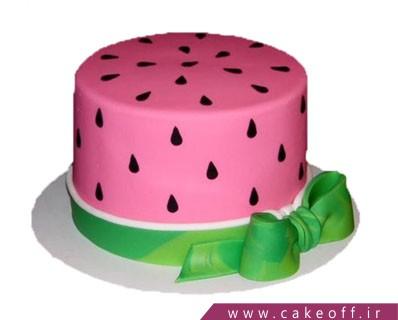 کیک شب یلدا - کیک هندونه و این همه نمک | کیک آف