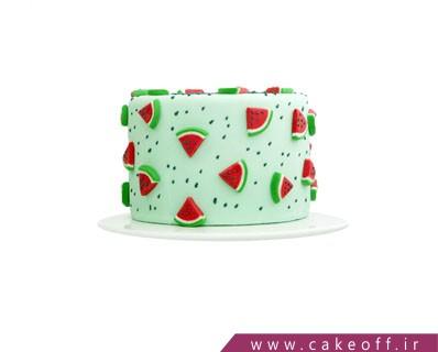 کیک شب یلدا و هندونه خوران | کیک آف