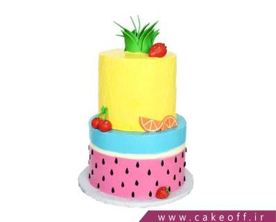 کیک یلدا - کیک هندونه آناناسی | کیک آف