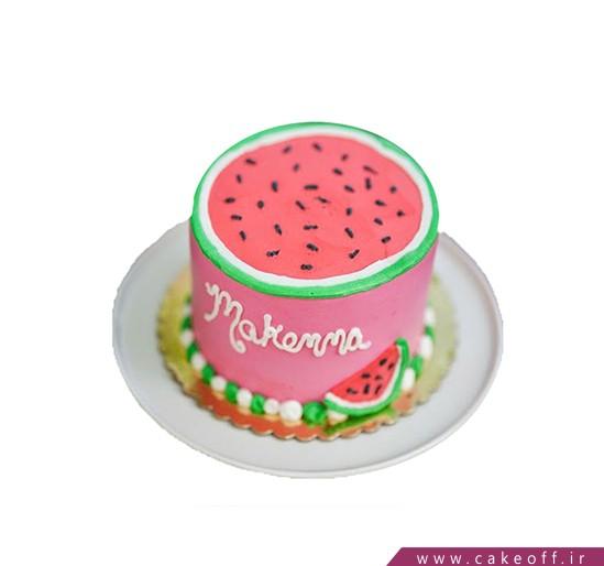 کیک شب یلدا - کیک هندونه برون | کیک آف