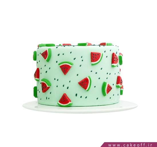 کیک شب یلدا و هندونه خوران