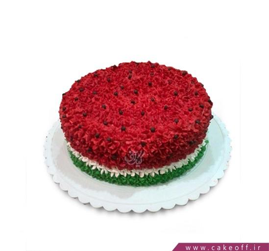 کیک یلدای به یاد ماندنی