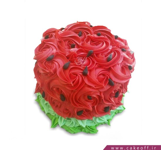 کیک یلدا - کیک هندونه به وقت یلدا | کیک آف