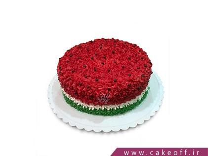 کیک شب یلدا - کیک یلدای به یاد ماندنی | کیک آف