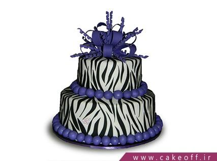جدیدترین مدل کیک تولد دخترانه - کیک زبرا 2 | کیک آف