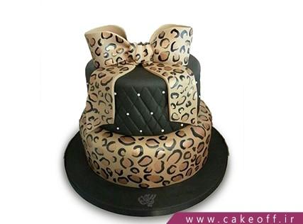 خرید آنلاین کیک - کیک پلنگی 1 | کیک آف