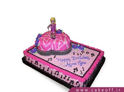 جدیدترین مدل کیک تولد دخترانه - کیک زبرا 3 | کیک آف