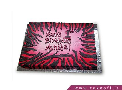 جدیدترین مدل کیک تولد دخترانه - کیک زبرا 7    کیک آف