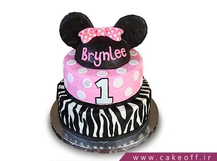 جدیدترین مدل کیک تولد دخترانه - کیک زبرا 9 | کیک آف