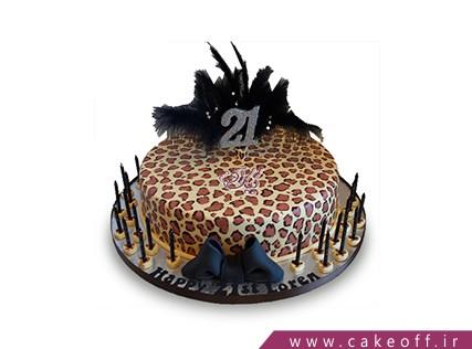 خرید آنلاین کیک - کیک پلنگی 2 | کیک آف