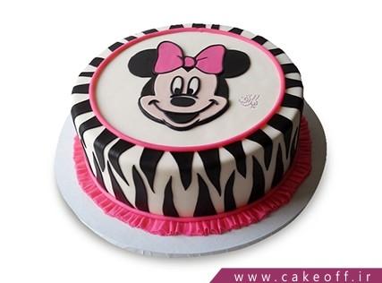 کیک تولد بچه گانه جدید - کیک مینی موس مدل زبرا | کیک آف