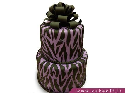 انواع کیک تولد دخترانه - کیک زبرا 16 | کیک آف