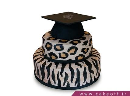کیک جشن فارغ التحصیلی - کیک پلنگی 3 | کیک آف