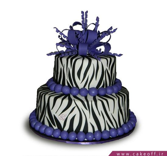 جدیدترین مدل کیک تولد دخترانه - کیک زبرا ۲ | کیک آف