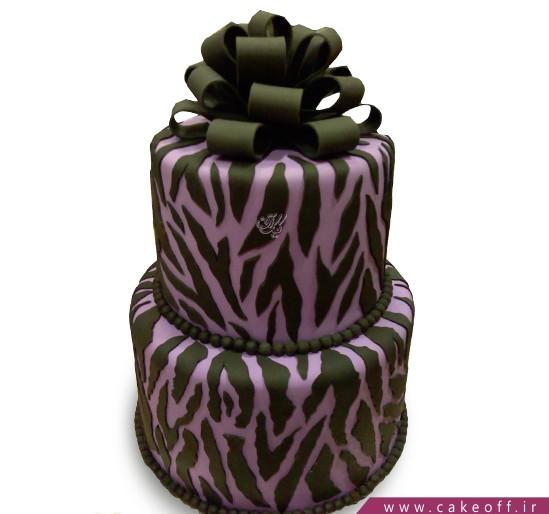 انواع کیک تولد دخترانه - کیک زبرا ۱۶   کیک آف
